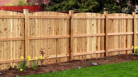 Painting exterior cedar fence building cedar fence - How to paint a wood fence ...